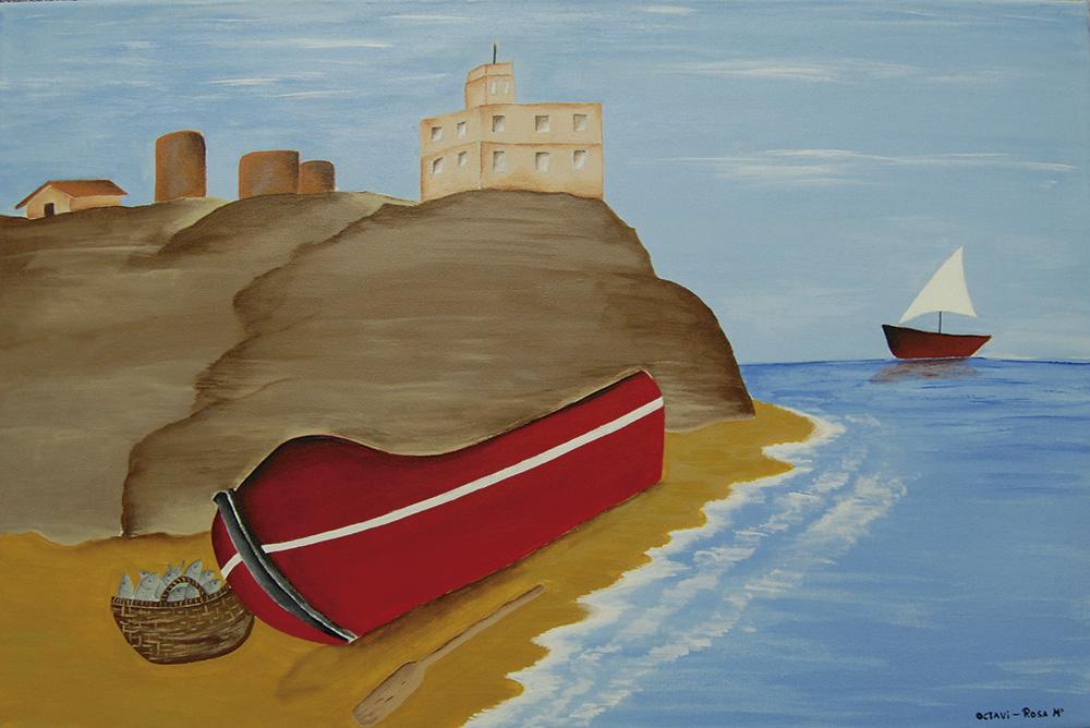 Avui presentem les obres de l'Associació La Muralla a Tarragona!