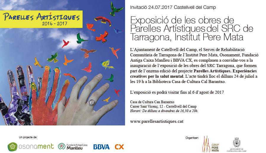 Les obres del SRC de Tarragona s'exposen a Castellvell del Camp