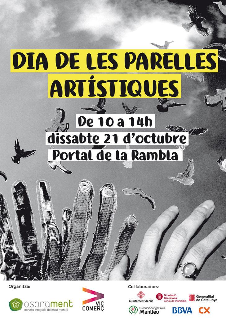 Dissabte 21 d'octubre: Festa de clausura de Parelles Artístiques!