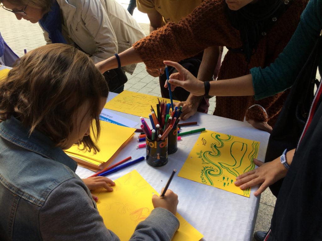 Molta participació i creativitat a la festa de clausura de Parelles Artístiques!