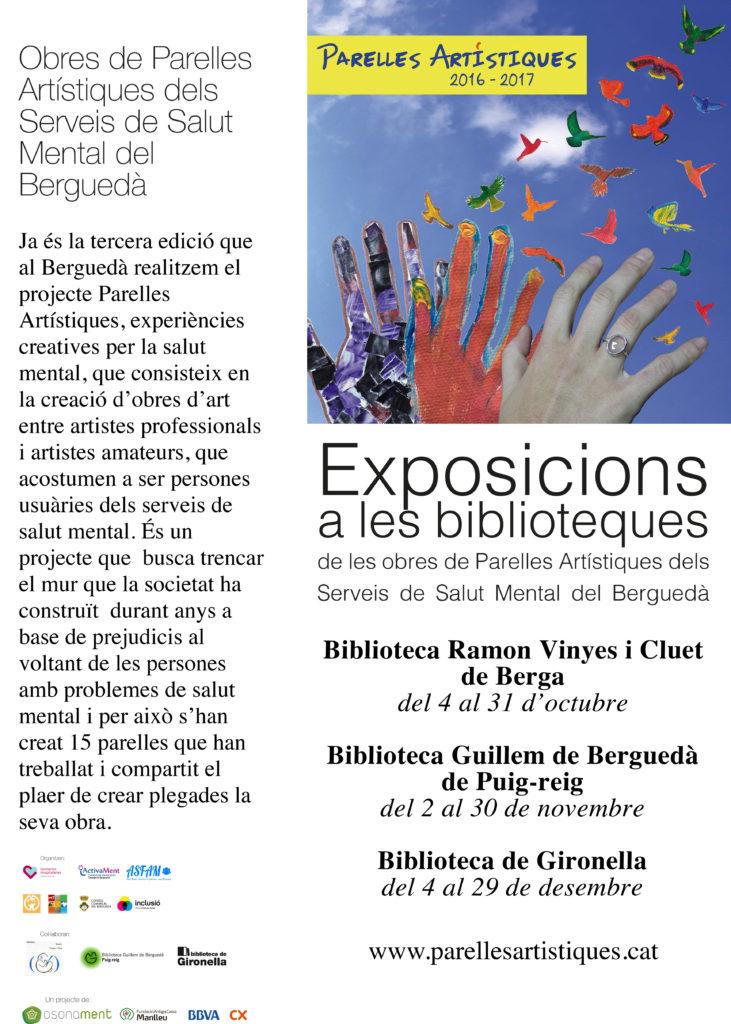 Exposicions de les obres del Berguedà a diferents biblioteques de la comarca